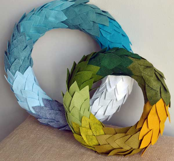 36 Mindbogglingly Magical DIY Christmas Wreaths For Your Home (20)