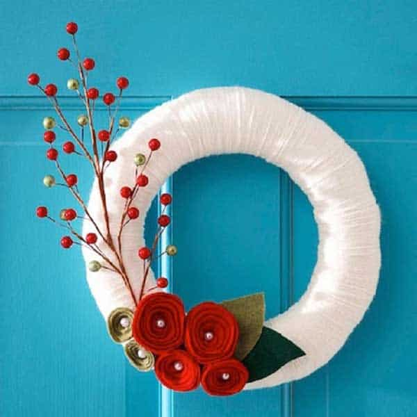 36 Mindbogglingly Magical DIY Christmas Wreaths For Your Home (23)