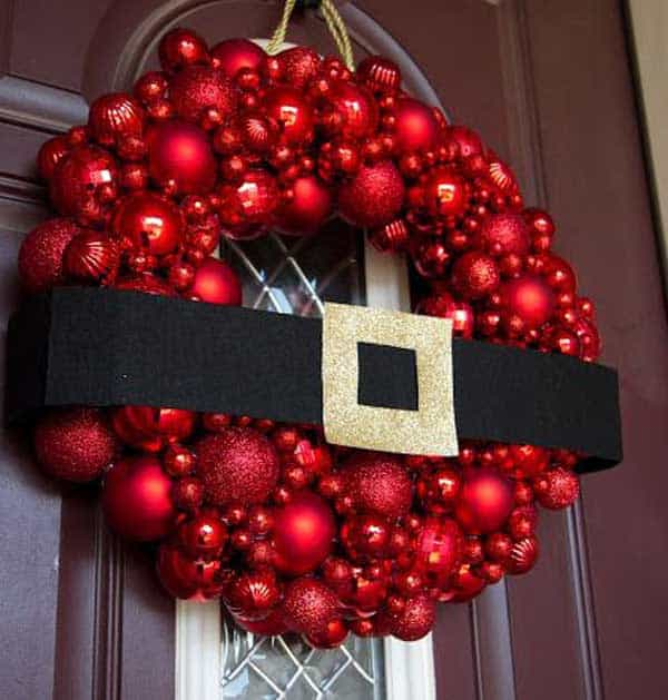 36 Mindbogglingly Magical DIY Christmas Wreaths For Your Home (26)
