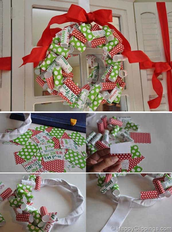 36 Mindbogglingly Magical DIY Christmas Wreaths For Your Home (27)
