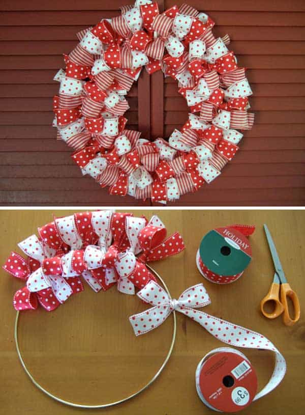 36 Mindbogglingly Magical DIY Christmas Wreaths For Your Home (3)