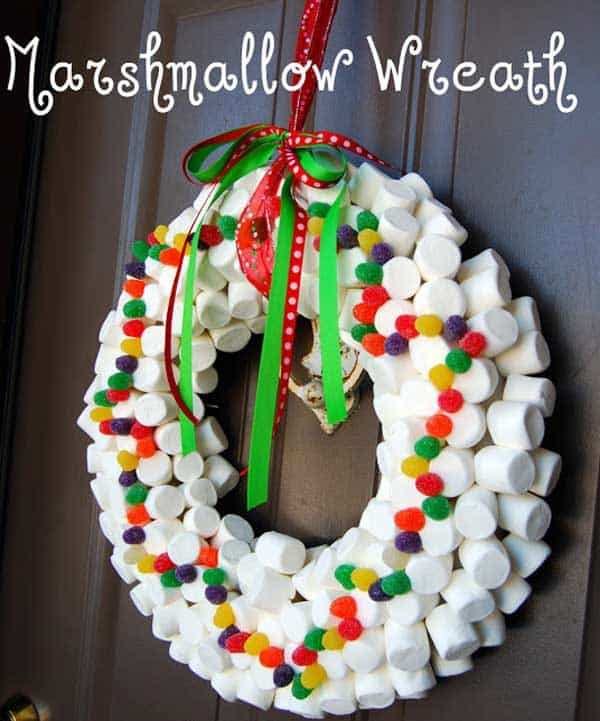 36 Mindbogglingly Magical DIY Christmas Wreaths For Your Home (30)