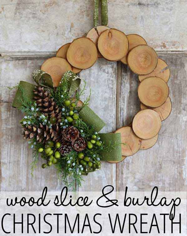 36 Mindbogglingly Magical DIY Christmas Wreaths For Your Home (34)