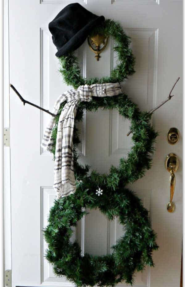 36 Mindbogglingly Magical DIY Christmas Wreaths For Your Home (4)