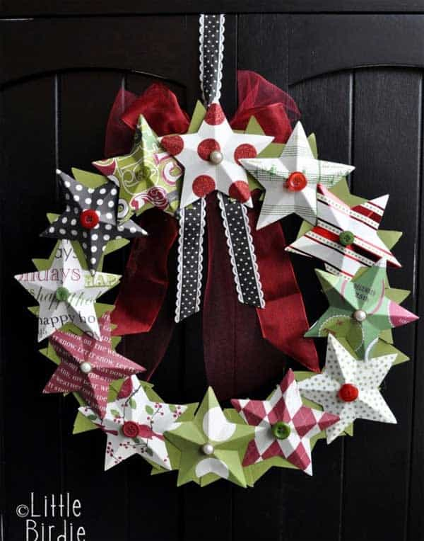 36 Mindbogglingly Magical DIY Christmas Wreaths For Your Home (9)