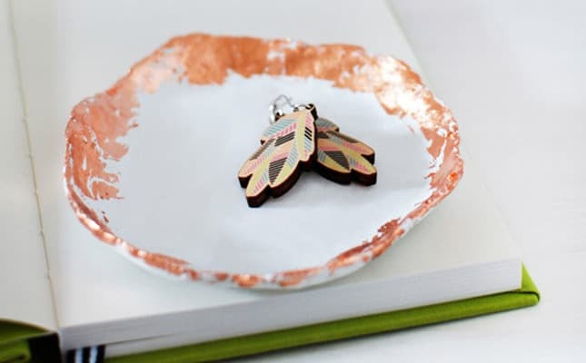 A VERY SIMPLE DIY COPPER EDGED BOWL