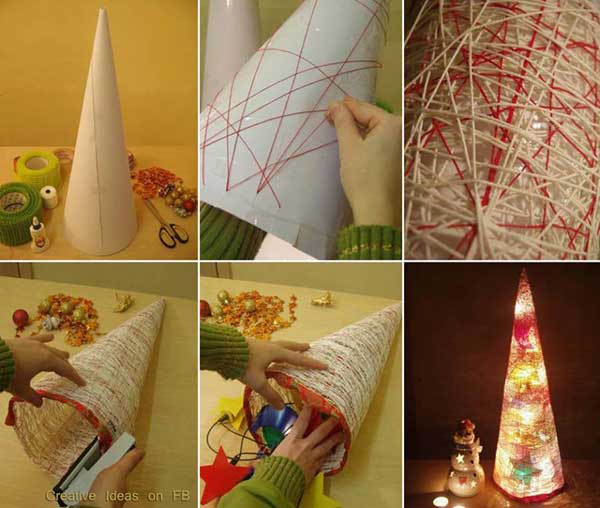 43+ Super Smart and Inexpensive Affordable DIY Christmas Decorations homesthetics decor (1)
