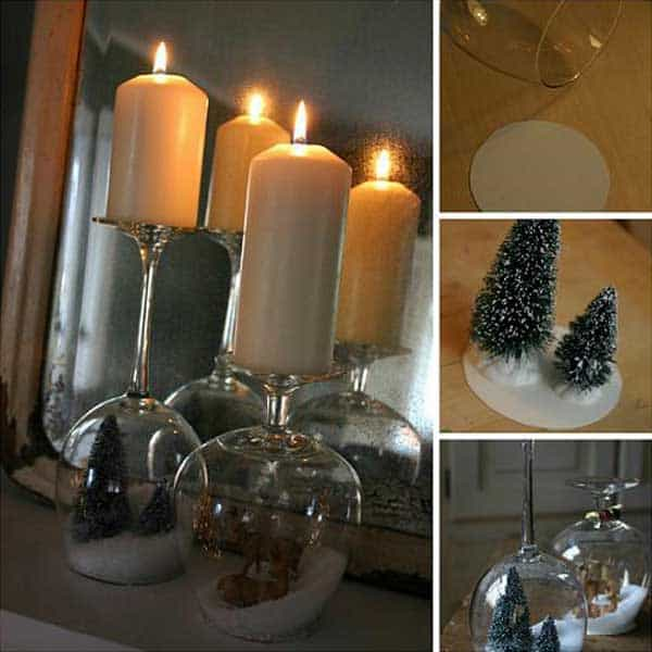 43+ Super Smart and Inexpensive Affordable DIY Christmas Decorations homesthetics decor (10)