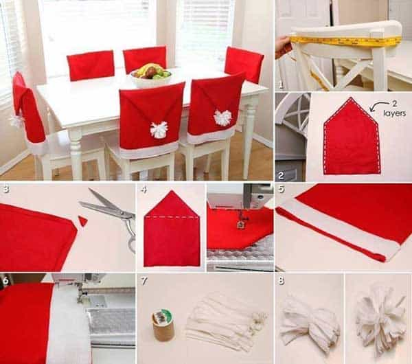 43+ Super Smart and Inexpensive Affordable DIY Christmas Decorations homesthetics decor (12)