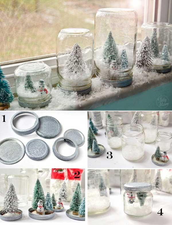 43+ Super Smart and Inexpensive Affordable DIY Christmas Decorations homesthetics decor (20)