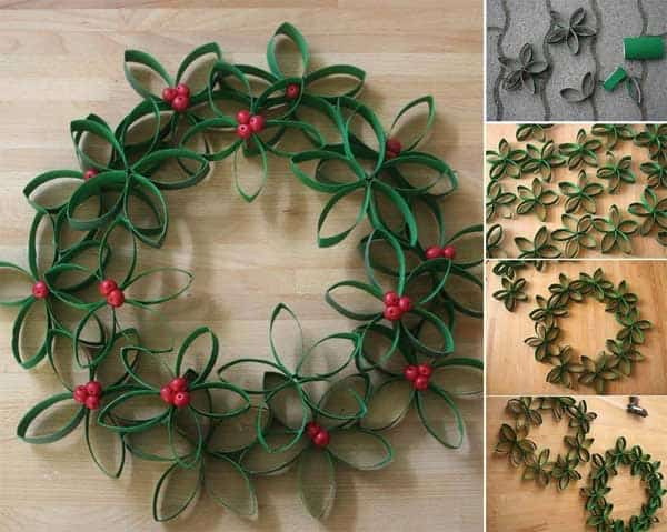 43+ Super Smart and Inexpensive Affordable DIY Christmas Decorations homesthetics decor (26)