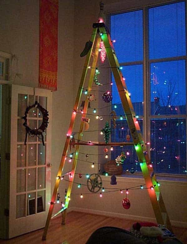 43+ Super Smart and Inexpensive Affordable DIY Christmas Decorations homesthetics decor (29)