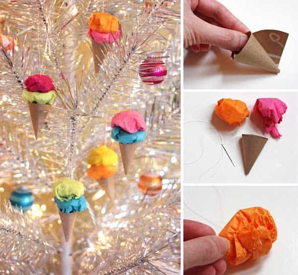 43+ Super Smart and Inexpensive Affordable DIY Christmas Decorations homesthetics decor (37)
