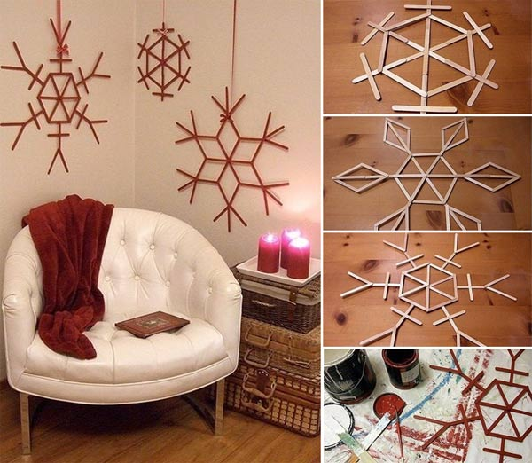 43+ Super Smart and Inexpensive Affordable DIY Christmas Decorations homesthetics decor (42)