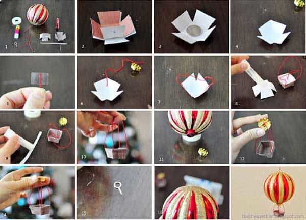 43+ Super Smart and Inexpensive Affordable DIY Christmas Decorations homesthetics decor (6)
