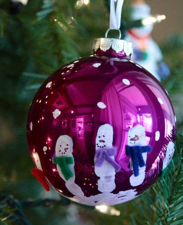 44 Easy to Realize Cheap DIY Crafts to Materialize With Your Children Christmas Crafts for Kids (1)