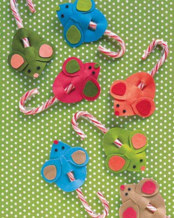 44 Easy to Realize Cheap DIY Crafts to Materialize With Your Children Christmas Crafts for Kids (10)