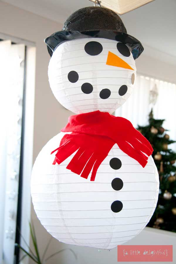 44 Easy to Realize Cheap DIY Crafts to Materialize With Your Children Christmas Crafts for Kids (11)