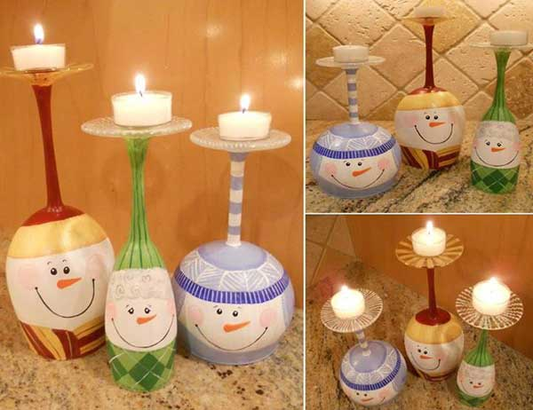 44 Easy to Realize Cheap DIY Crafts to Materialize With Your Children Christmas Crafts for Kids (12)