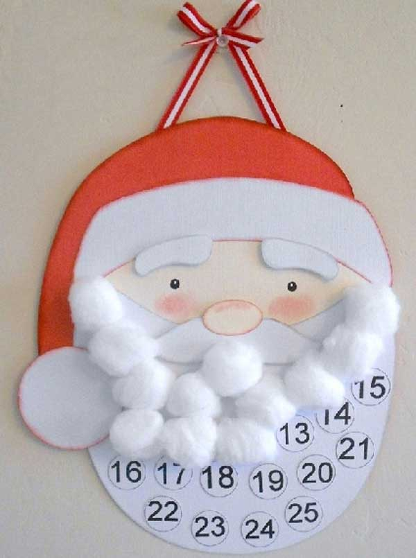 44 Easy to Realize Cheap DIY Crafts to Materialize With Your Children Christmas Crafts for Kids (16)
