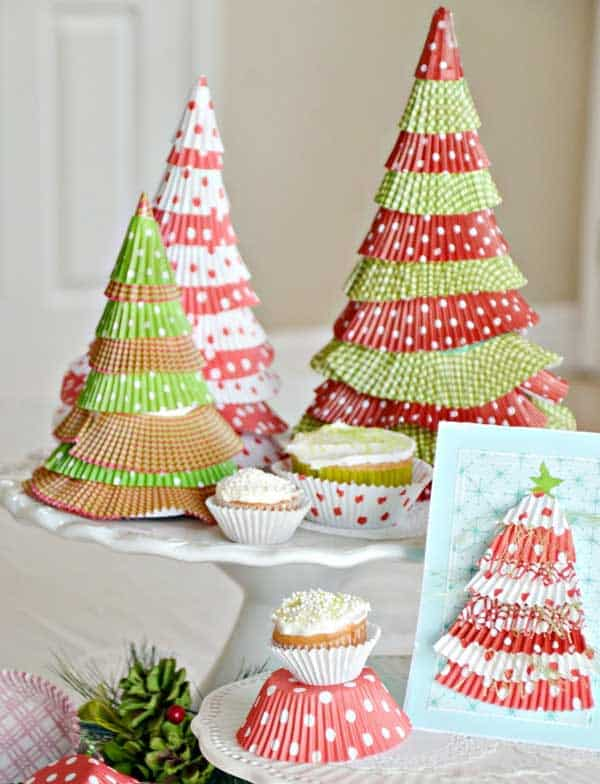 44 Easy to Realize Cheap DIY Crafts to Materialize With Your Children Christmas Crafts for Kids (18)