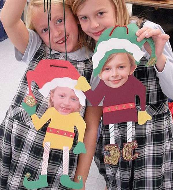 44 Easy to Realize Cheap DIY Crafts to Materialize With Your Children Christmas Crafts for Kids (2)