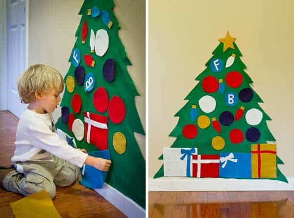 44 Easy to Realize Cheap DIY Crafts to Materialize With Your Children Christmas Crafts for Kids (20)