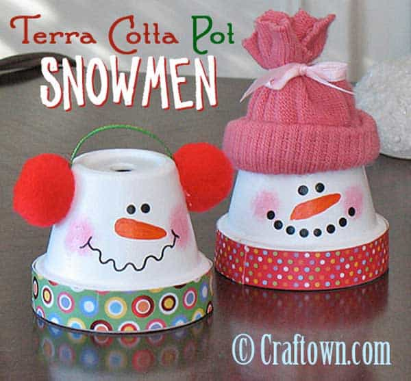 44 Easy to Realize Cheap DIY Crafts to Materialize With Your Children Christmas Crafts for Kids (21)