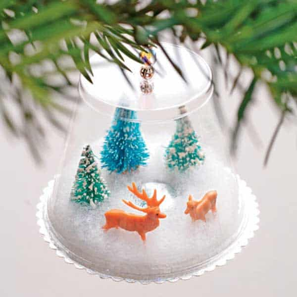 44 Easy to Realize Cheap DIY Crafts to Materialize With Your Children Christmas Crafts for Kids (27)