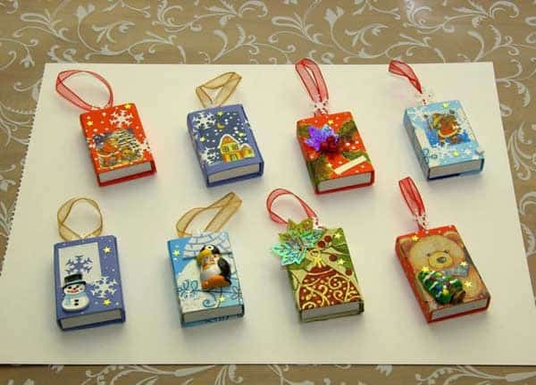 44 Easy to Realize Cheap DIY Crafts to Materialize With Your Children Christmas Crafts for Kids (29)