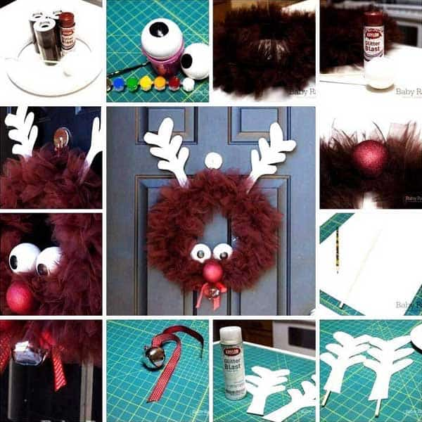 44 Easy to Realize Cheap DIY Crafts to Materialize With Your Children Christmas Crafts for Kids (30)