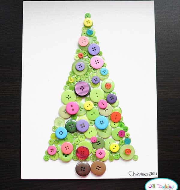 44 easy to realize cheap diy crafts to materialize with for X mas decorations for kids