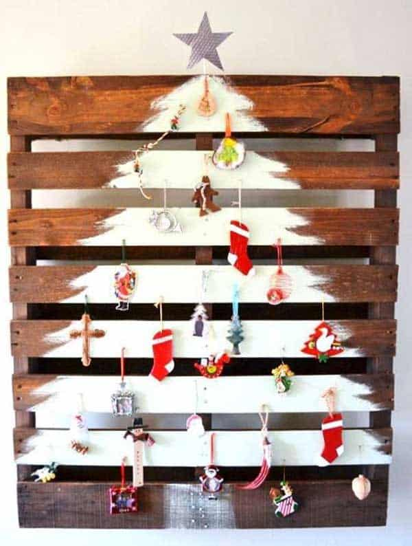 44 Easy to Realize Cheap DIY Crafts to Materialize With Your Children Christmas Crafts for Kids (37)