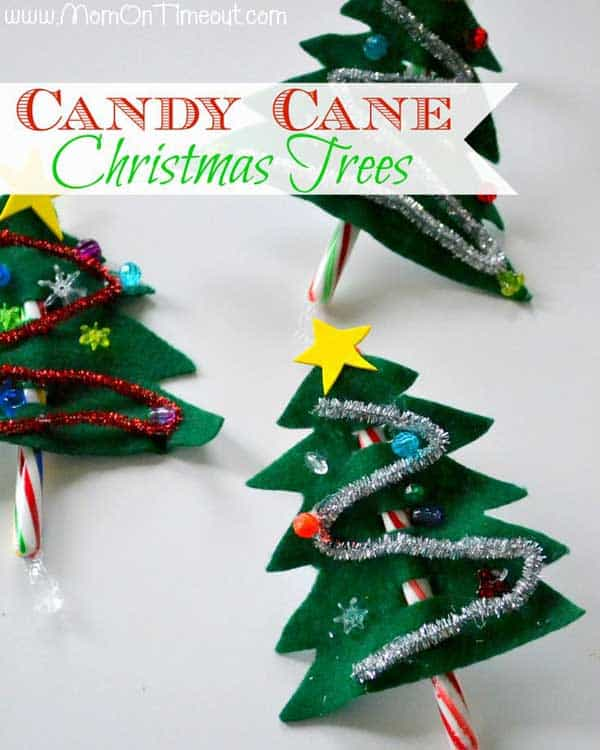 44 Easy to Realize Cheap DIY Crafts to Materialize With Your Children Christmas Crafts for Kids (41)