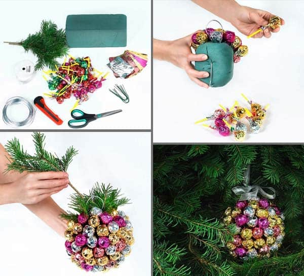 44 Easy to Realize Cheap DIY Crafts to Materialize With Your Children Christmas Crafts for Kids (42)
