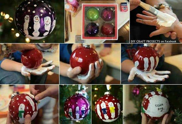 44 Easy to Realize Cheap DIY Crafts to Materialize With Your Children Christmas Crafts for Kids (44)