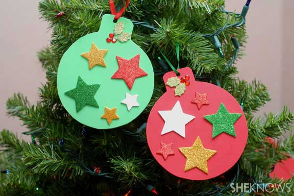 44 Easy to Realize Cheap DIY Crafts to Materialize With Your Children Christmas Crafts for Kids (5)