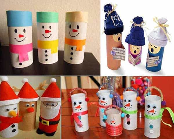 44 Easy to Realize Cheap DIY Crafts to Materialize With Your Children Christmas Crafts for Kids (7)