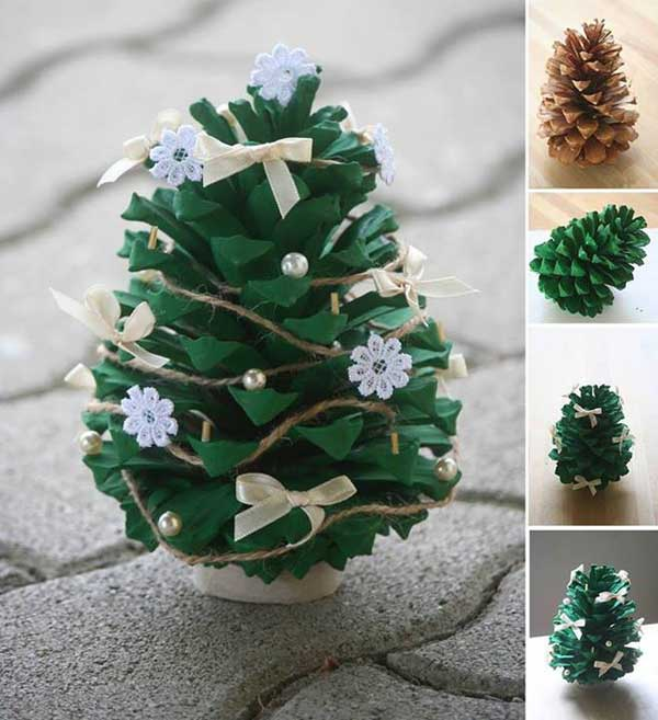 44 Easy to Realize Cheap DIY Crafts to Materialize With Your Children Christmas Crafts for Kids (9)