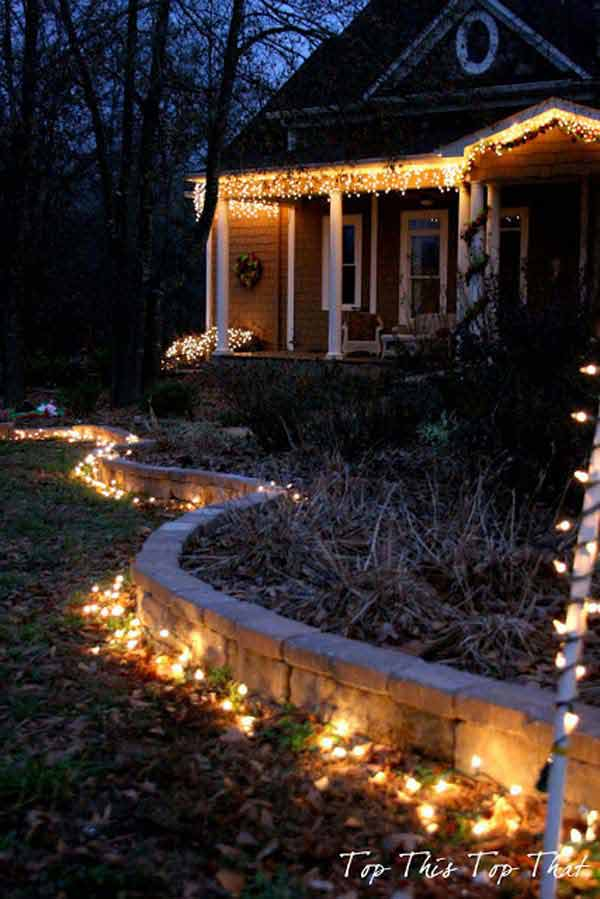 49 Magical Christmas Lightning Ideas to Bring Joy & Light on Your Holidays homesthetics decor (14)
