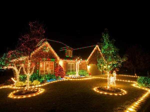 christmas lighting ideas houses. #2 Transform Your House With Light Into A Fairytale. 49 Magical Christmas Lighting Ideas Houses