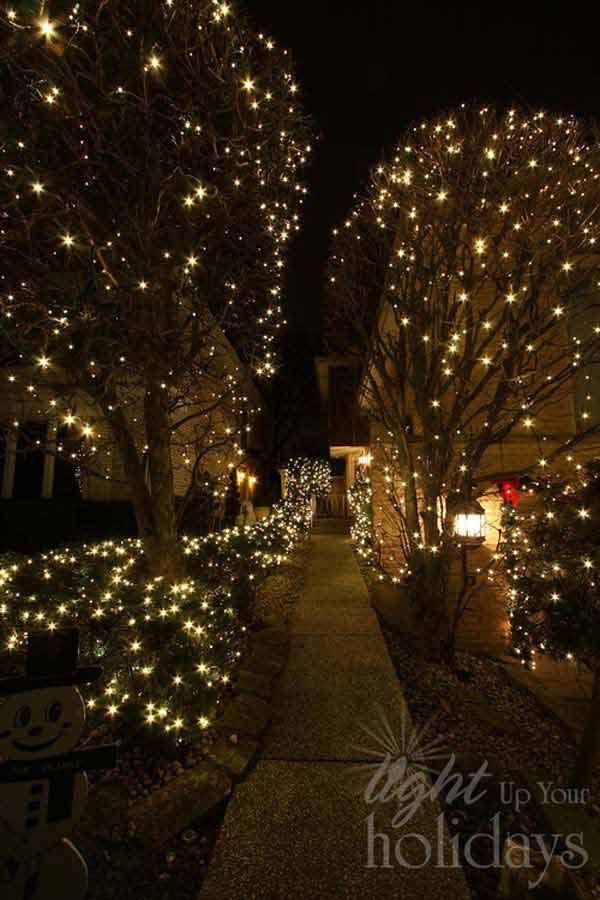 49 Magical Christmas Lightning Ideas to Bring Joy & Light on Your Holidays homesthetics decor (32)
