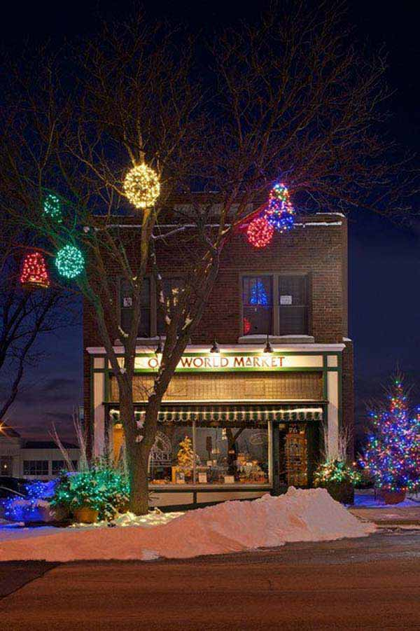 49 magical christmas lightning ideas to bring joy light on your holidays homesthetics decor - Exterior Christmas Lights Ideas