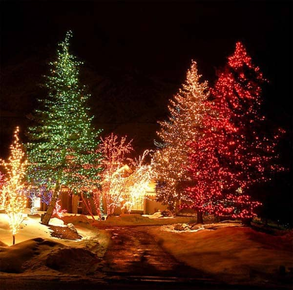 49 Magical Christmas Lightning Ideas to Bring Joy & Light on Your Holidays homesthetics decor (47)