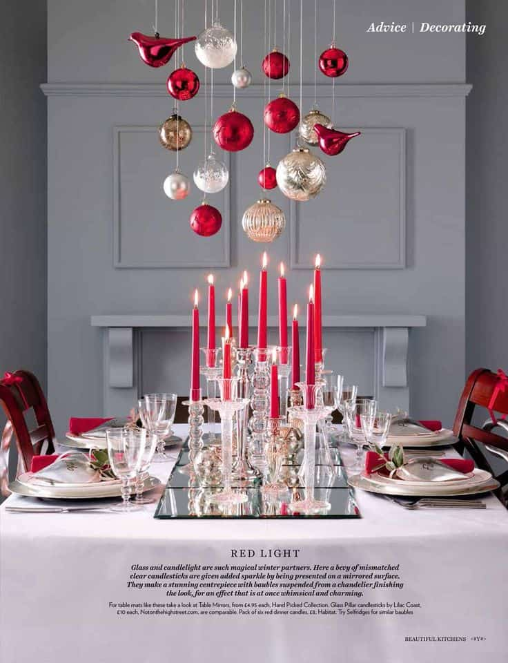 Christmas Centerpieces That Will Embellish Your Dining Room Decor For The Holidays (13)