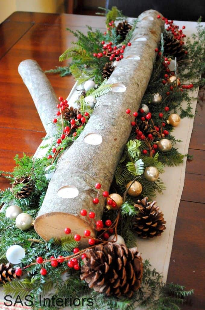 Christmas Centerpieces That Will Embellish Your Dining Room Decor For The Holidays (14)