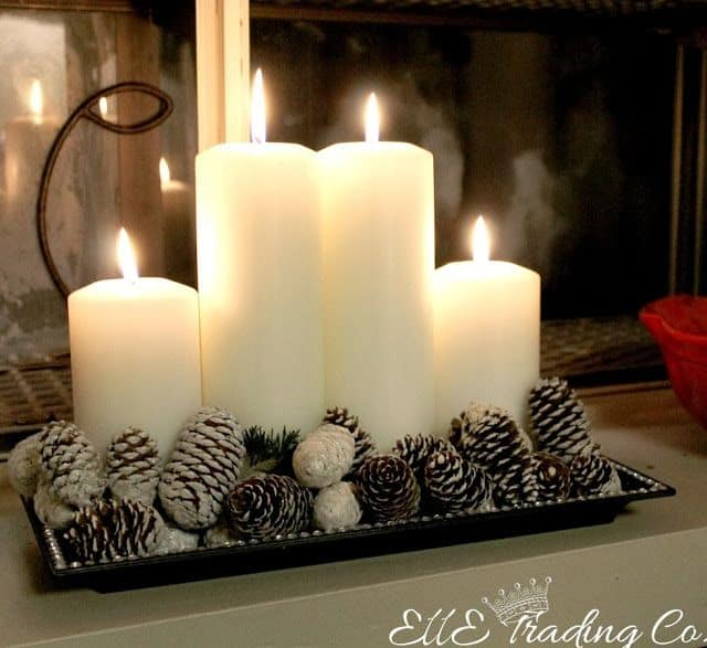 Christmas Centerpieces That Will Embellish Your Dining Room Decor For The Holidays (20)