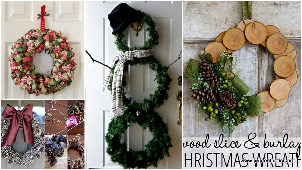 35 Mindbogglingly Magical DIY Christmas Wreaths For