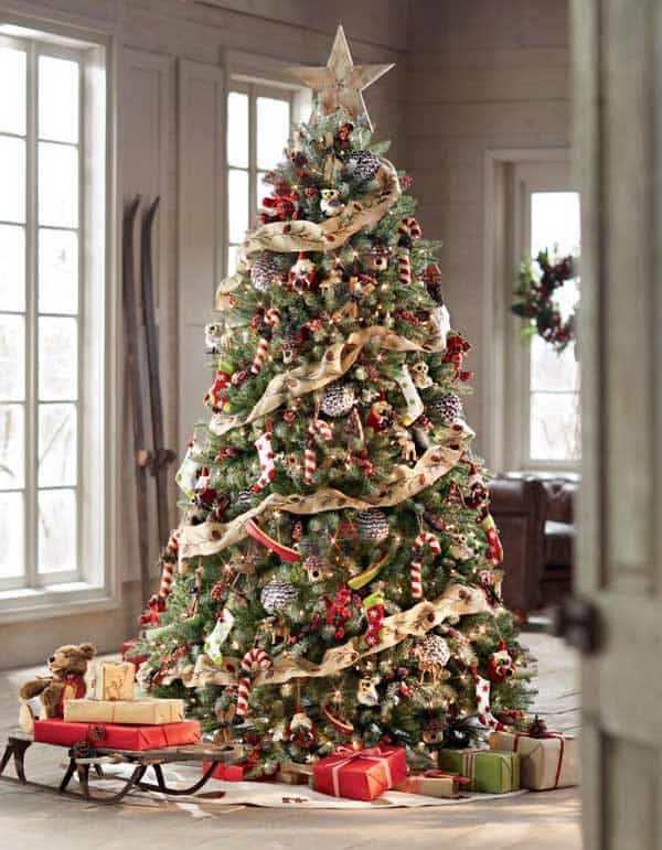 Gallery Of 25 Charmingly Beautiful Christmas Trees For Happy Shelters Homesthetics Decor 1