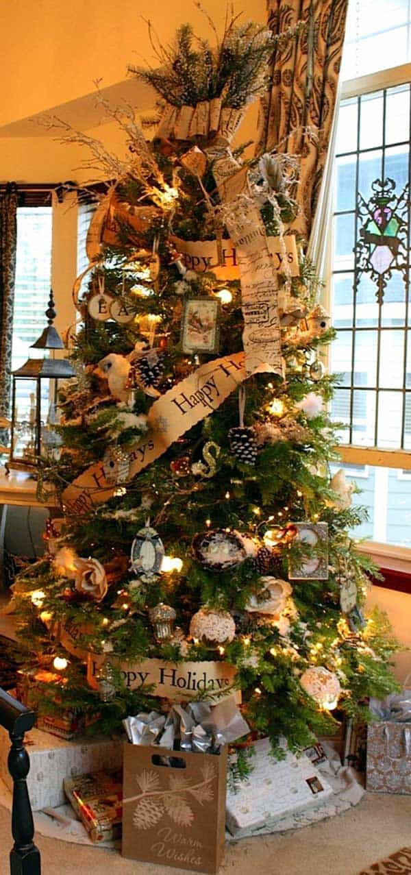 Gallery of 25 Charmingly Beautiful Christmas Trees For Happy Shelters homesthetics decor (18)